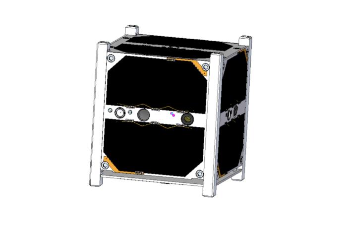 2013-2014: Dizajn satelitu v CAD softvéri